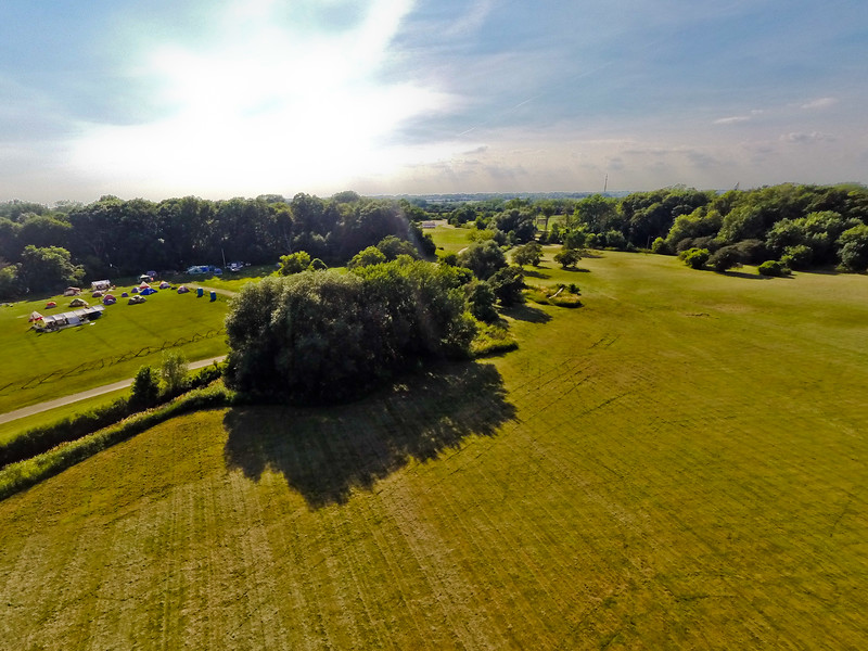 High-noon Summer at the Park 11 : Aerial Photography from Project Aerospace