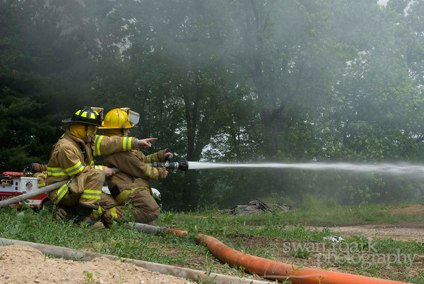 WTVFD Live Burn Training 2008-06-07