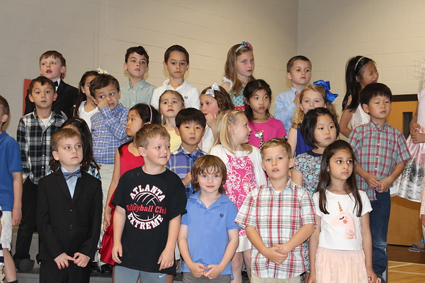 Avery's Kindergarten Program May 2018