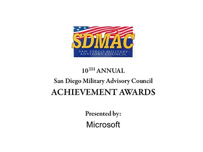 SDMAC Achievement Awards Ceremony