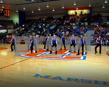 Marshall County High Dance Team Performance February 5, 2010 At The Lady Marshals Basketball Game With Graves County.