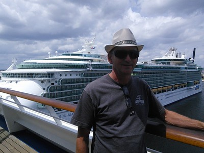 September 2015: Fort Lauderdale then aboard Carnival Conquest