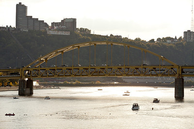 The Big Friggin Yellow Rubber Duckie on the River Sept 27 2013