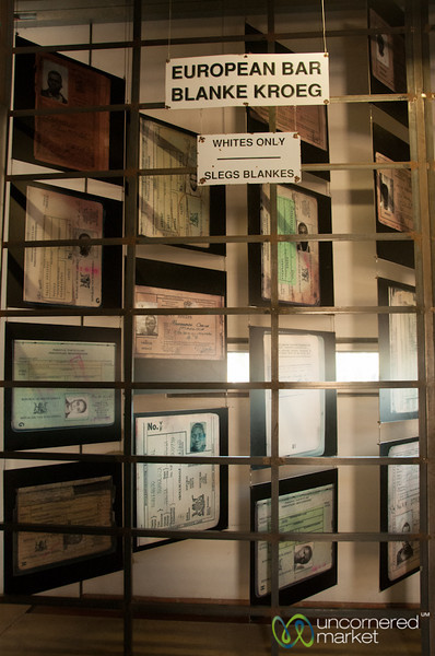 Whites Only, Apartheid Museum - Johannesburg, South Africa