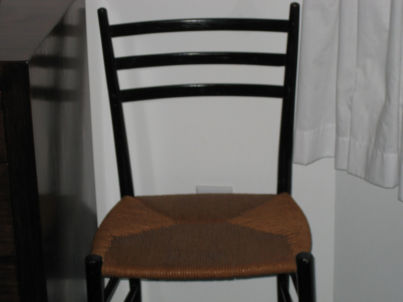 cane chair  two available
