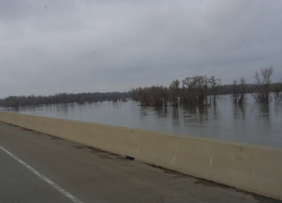 3) Meriwether's battle with the Ohio River