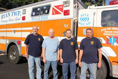 Ryan Township Rescue Squad Story photos, Pine Grove, Suedburg (8-29-2012)
