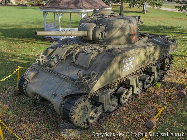 Public Park - Oconto, WI - M4A3(75)