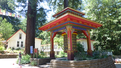 2018/07/22 >> Land of Medicine Buddha Retreat Center near Santa Cruz