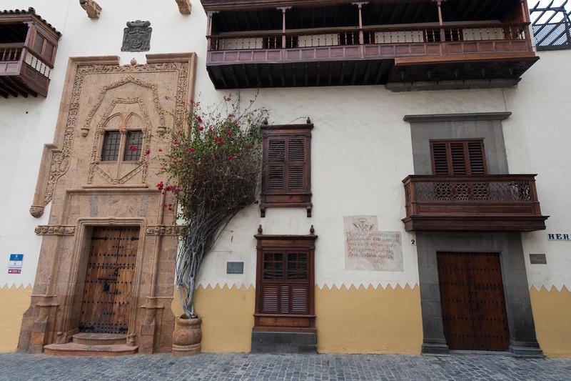 The Columbus' House in Gran Canaria, Spain