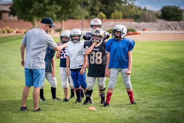 2019 6th Grade Mustangs Practice