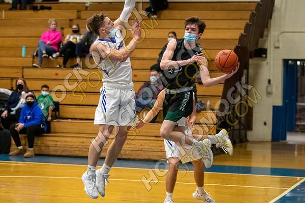 Attleboro-Mansfield Boys Basketball - 01-19-21