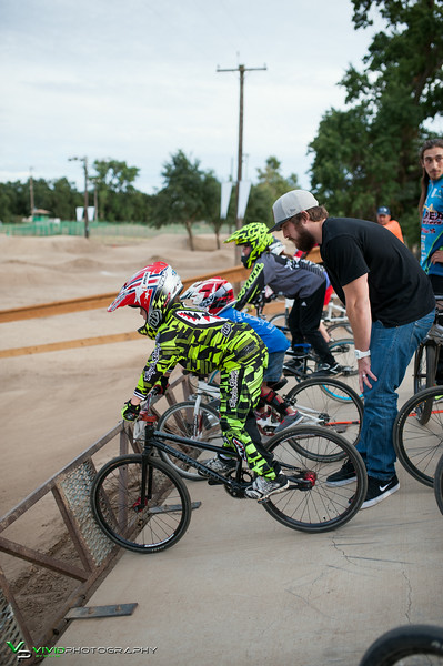 Kevin and Pete BMX Clinic Elkhorn BMX Track 6-25-2014