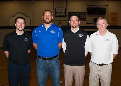 North Mason Basketball groups 2014