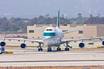 Airplanes of Los Angeles International Airport July 2007