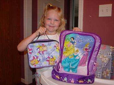 Leah 1st Day Kindergarten