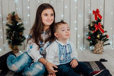 Familia Marin - Sedinta Foto de Craciun
