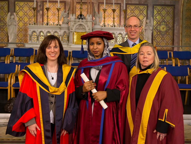 Waterford Institute Of Technology Conferring. Pictured at WIT Waterford Institute Of Technology Conferring is Reem Elsiddig, Waterford who was conferred a Doctor of Philosophy. Picture: Patrick Browne