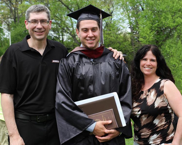 2015 St. Bonaventure Graduation