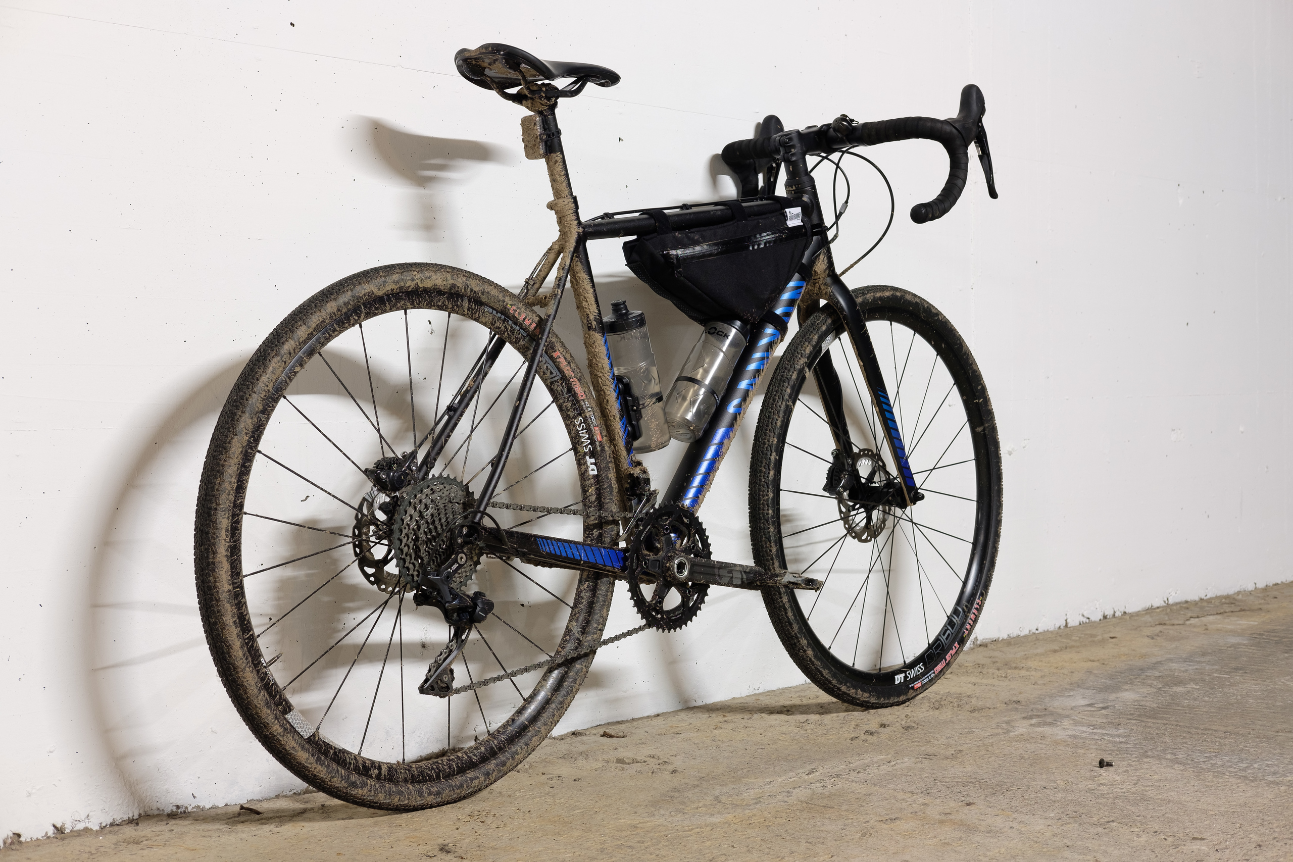 CX bike after a very muddy and fun ride