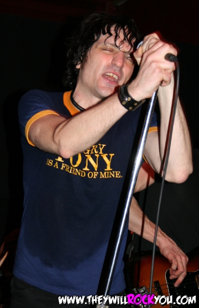 Jesse Malin<br>April 14, 2006<br>Iron Horse Music Hall - Northampton, MA<br>Photos by:  Mary Ouellette