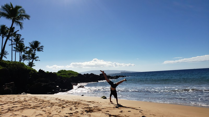 Andres Calderon - Po'olenalena Beach - Makena - Hawaii - USA