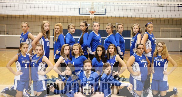 2012 CCHS Volleyball Team Pictures