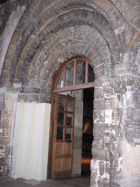 Visitor's Entrance to the Keep of Norwich Castle.