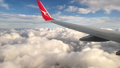 Flight QF663 from Brisbane