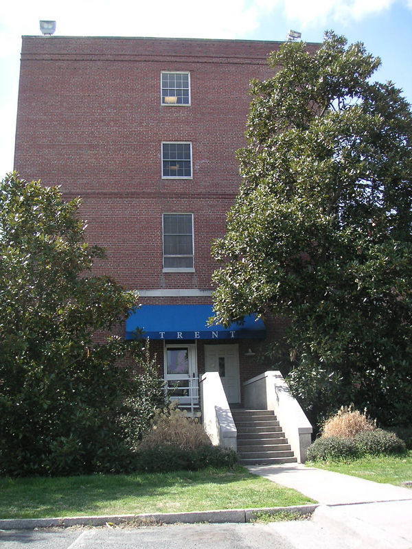 Trent Dorm on Central Campus