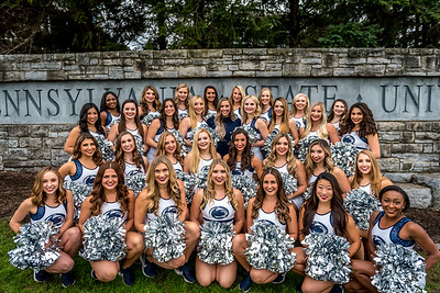 2018 Penn State Lionette Photos