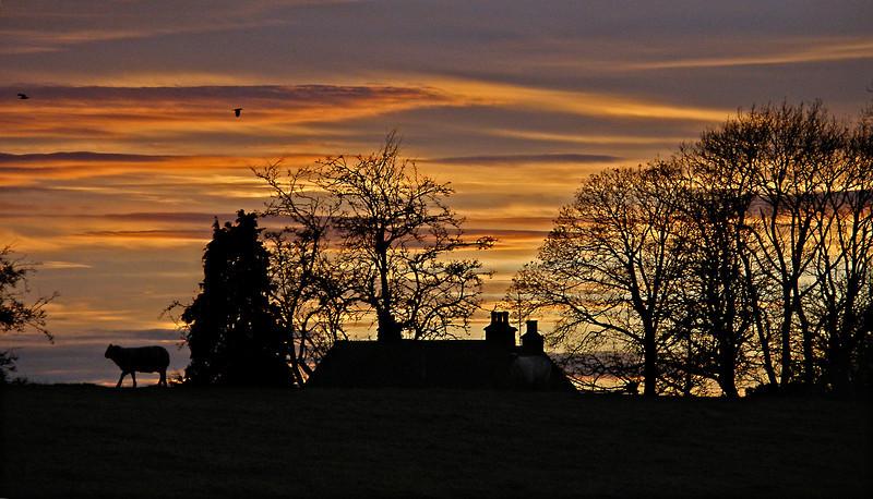 Pittendriech sunset