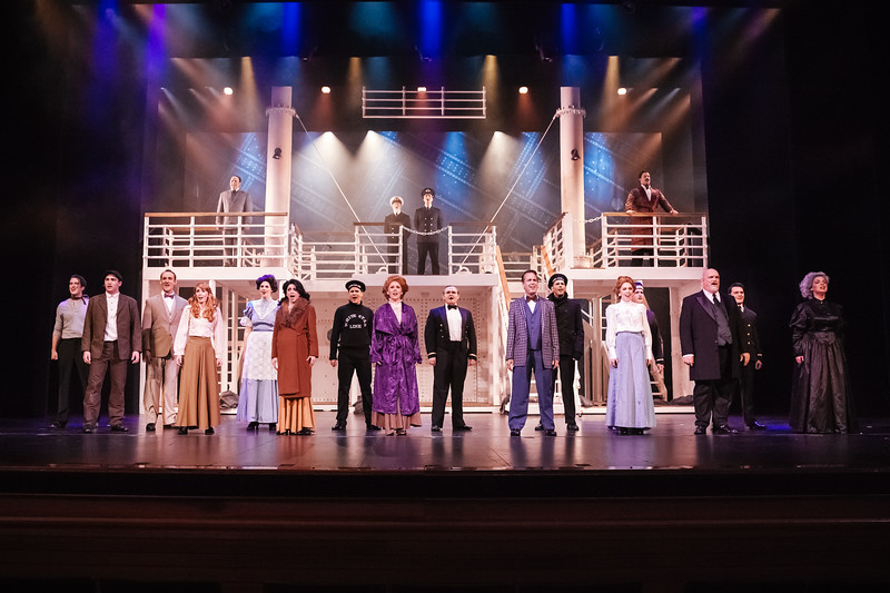 Slow Burn Theatre Company presents: Titanic The Musical at The Broward Center for Performing Arts, Fort Lauderdale, Florida Jan 19th - Feb 5th  2017