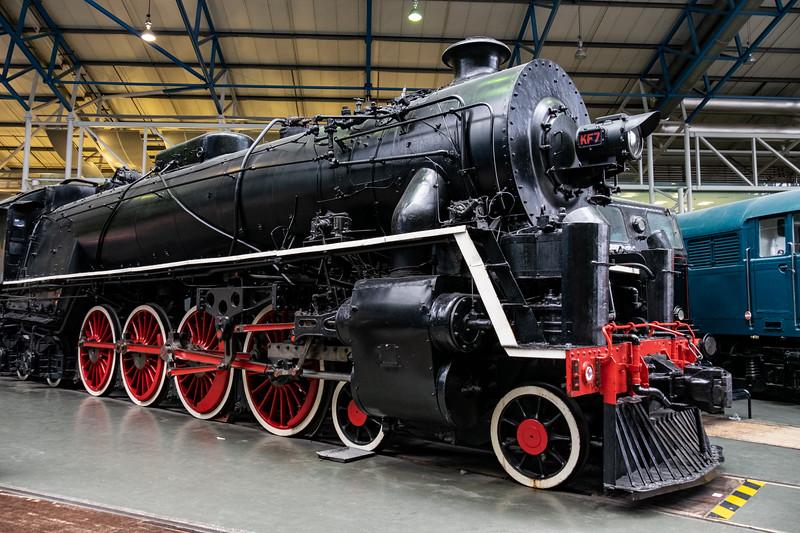 Chinese Government Railways Steam Locomotive 4-8-4 KF7 class, No 607, 1935