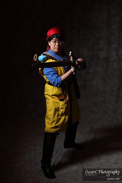 Hero (Takeshi Ya) from Dragon Quest VIII