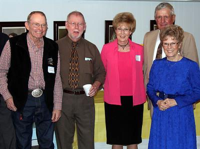 Dick Kendrick, Mike Cartwright, Sharon Mizner, Bob Galey and Dorine Daniels - 25 Mar 2012
