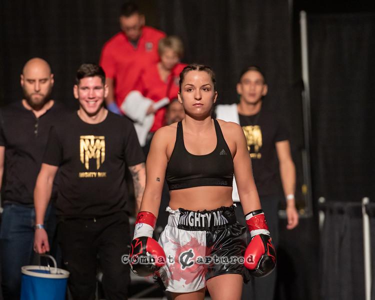 KO Boxing 88: Bout 3: Mikenna Tansley vs Ava Castro