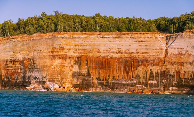 Pictured Rocks National Lakeshore, Lake Superior, Michigan - 2019