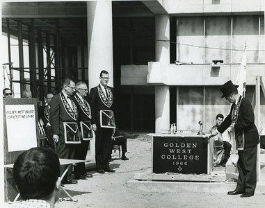 1966 Cornerstone Ceremony