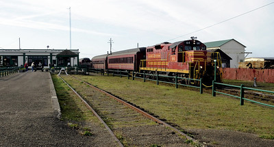 California: Skunk Train, 2011