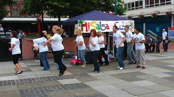 MiSalsaCubana Cwmbran Promotion Day 24-07-10