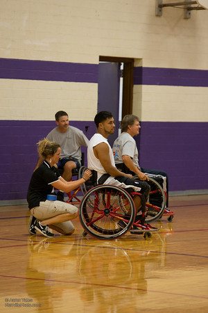 Spurs Wheelchair Basketball vs. PRMC Doctors