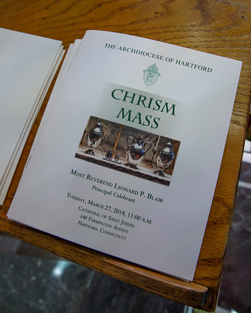 2018 Archdiocese of Hartford Chrism Mass