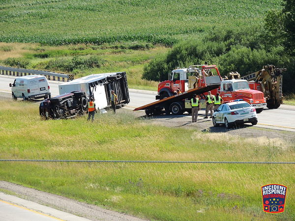 Interstate 43 near County Road D