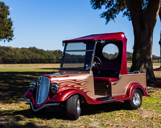 The Last Ride.....  34 Ford Streetrod replica golf cart