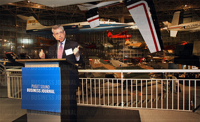 The Puget Sound Business Journal 2016 Book of Lists gala event at the Museum of Flight in Seattle, Wash.