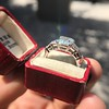 3.43ctw Emerald Cut Diamond 5-Stone Ring by Leon Mege, GIA F SI1 20