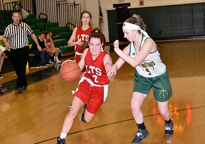 LTS Girls JV Basketball vs WR photos by Gary Baker