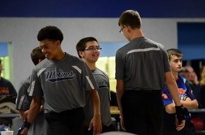 OE Boys Bowling Vs Oswego 2015