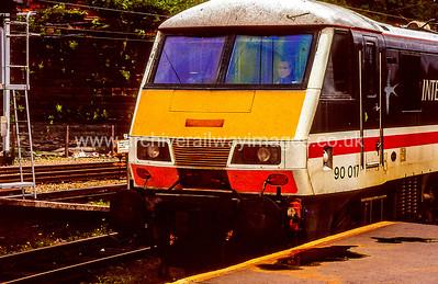 Class 90 Electric Locomotives